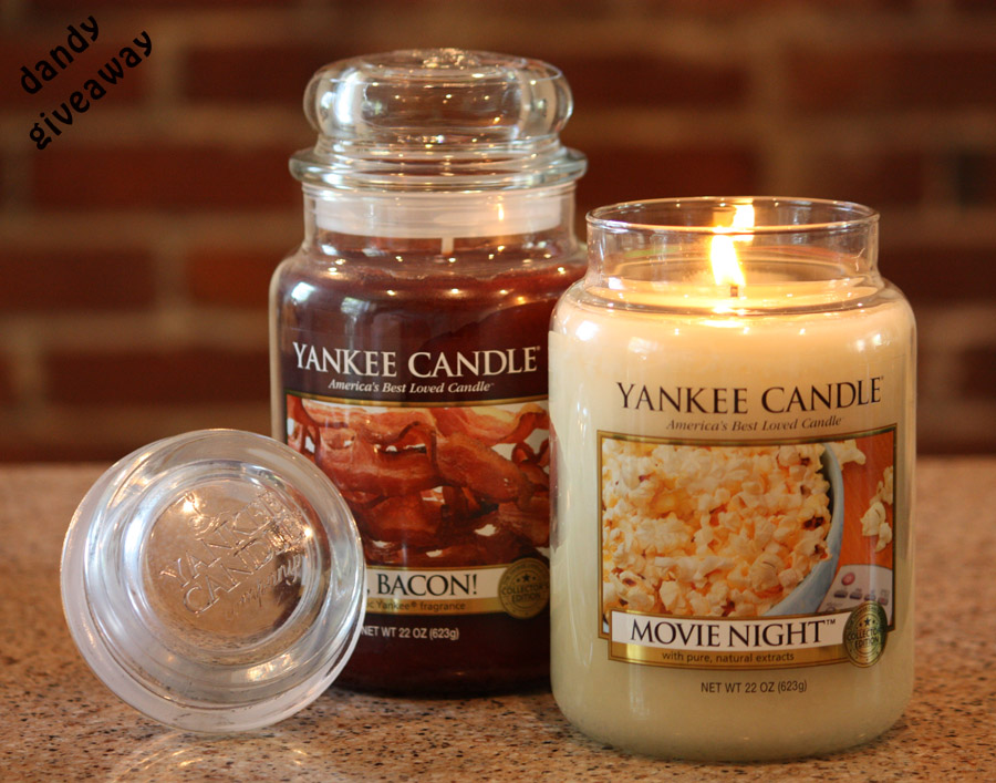 Yankee Candle Bacon and Movie Night