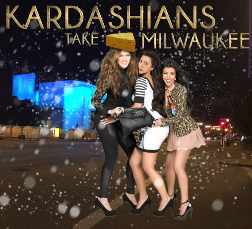 kardashians take milwaukee
